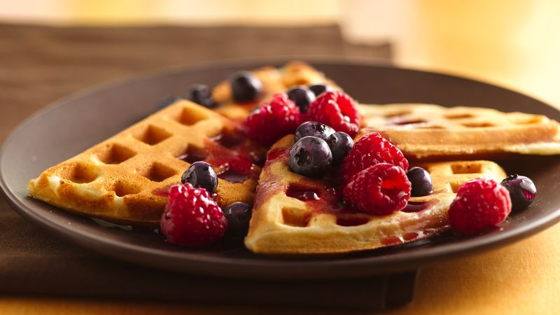 Waffles Recipe Bettycrocker Com