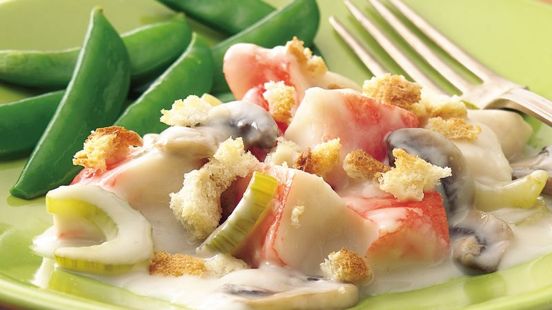 Creamy Crab au Gratin