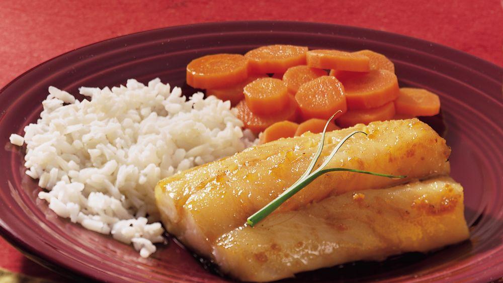 Honey-Soy Baked Cod
