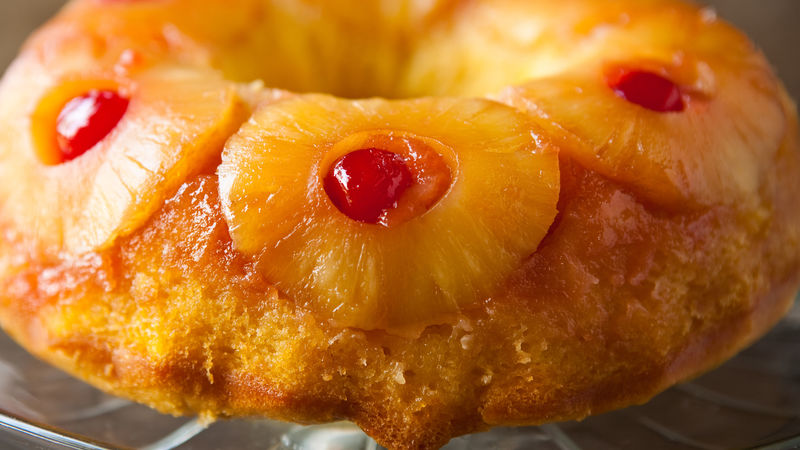 Apple Upside Down Cake Pan