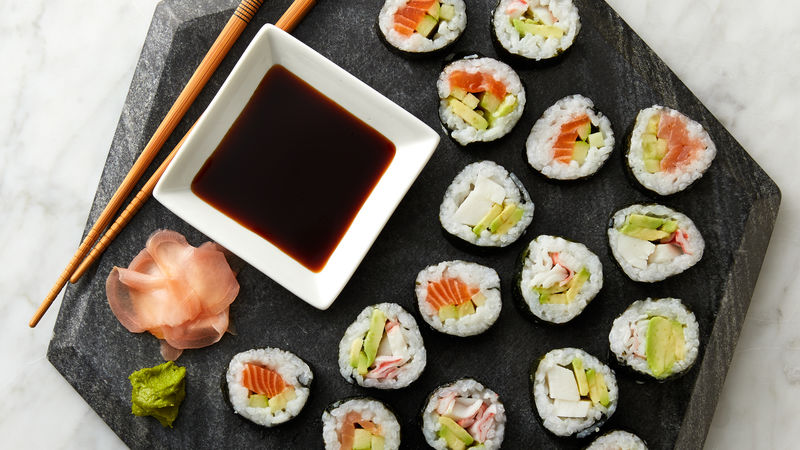 Sushi Rolls Recipe - Tablespoon.com