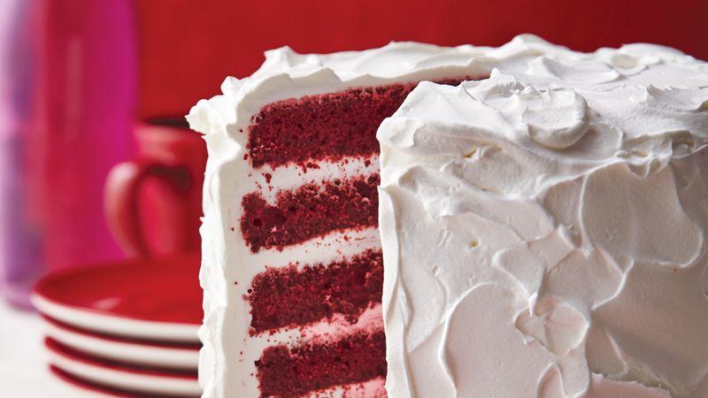Red Velvet Cream Torte