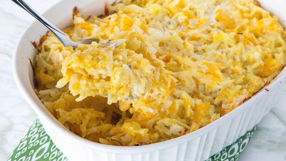 Cheesy Potato Casserole Recipe Pillsbury Com