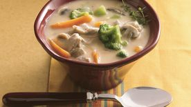 Slow-Cooker Chicken-Vegetable Chowder