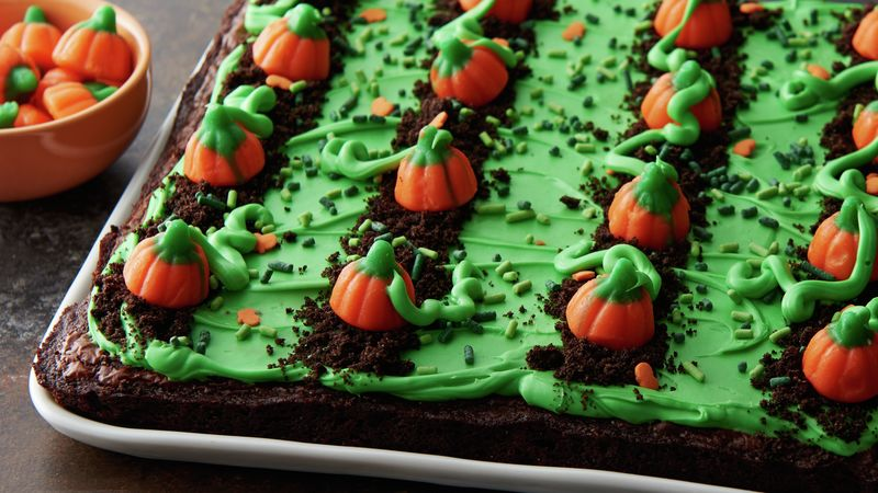Pumpkin Patch Brownies