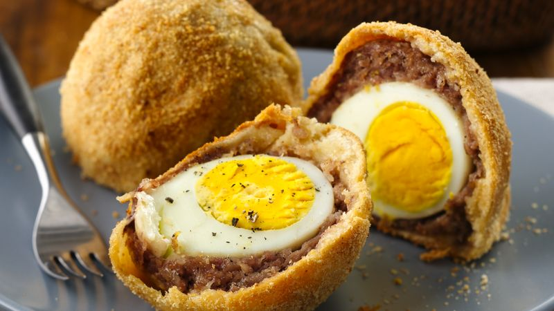 Crescent-Wrapped Scotch Eggs
