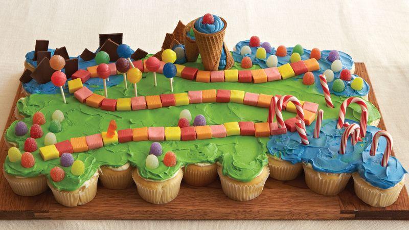 Fantasyland Pull Apart Cupcakes