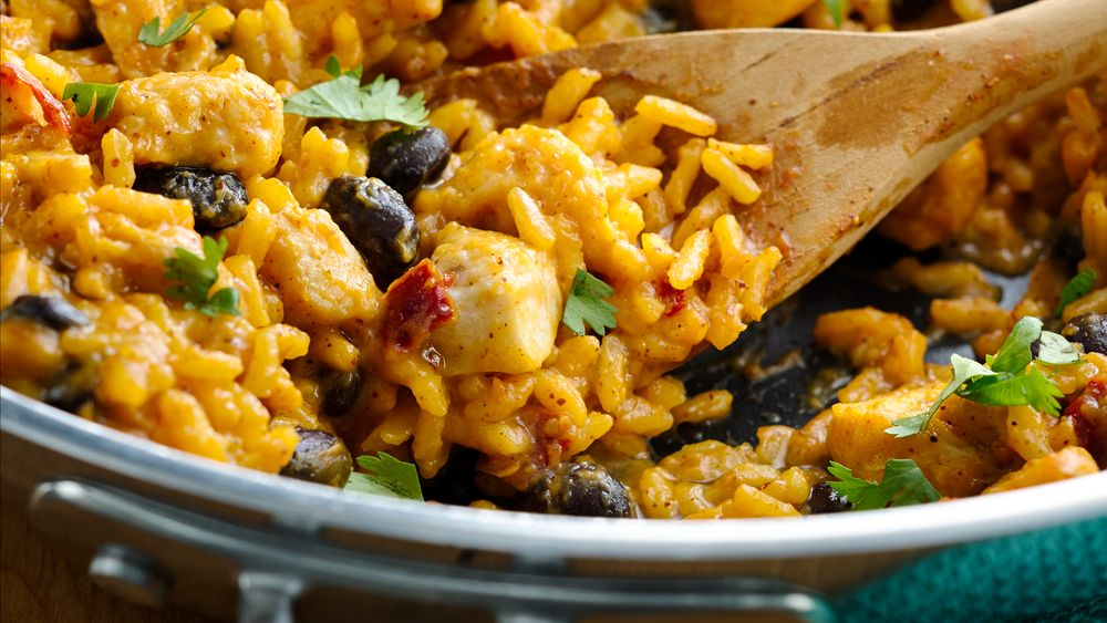 Pumpkin and Black Bean Cheesy Enchilada Skillet