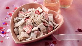 Strawberries and White Chocolate Chex® Mix