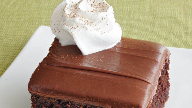 Mexican Chocolate Sheet Cake