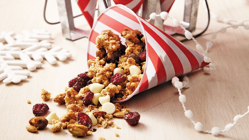 Pumpkin-Spice Cookie Granola
