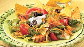 Fiesta Chicken Taco Salad