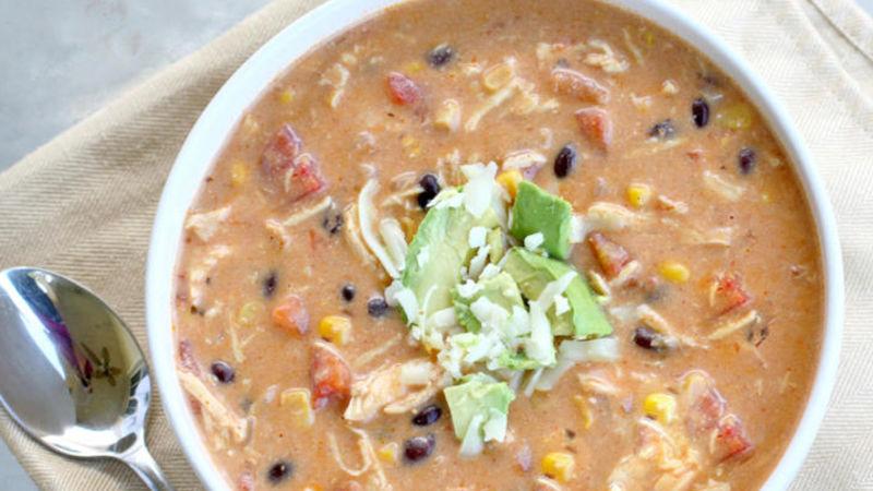 Chicken Enchilada Chowder