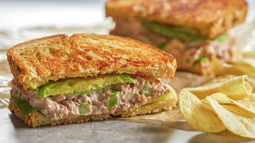 Tuna Salad Sandwiches_image