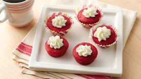 Red Velvet Cookie Cups