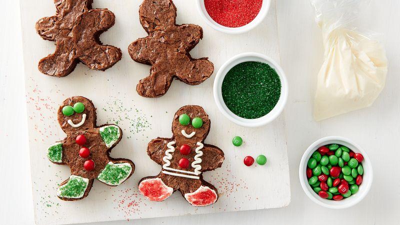 Brownie Gingerbread Men