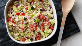 Cold Couscous Pasta Salad