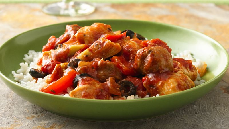Spanish chicken recipe bettycrocker spanish chicken forumfinder Choice Image