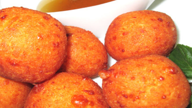 Cassava and Cheese Buñuelos