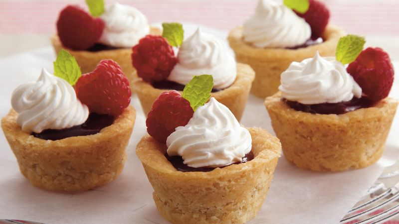 Raspberry Curd Tassies