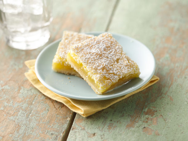 Luscious Lemon Squares