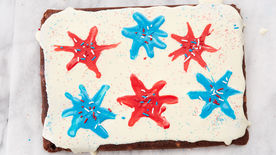 Fudgy Fireworks Brownies