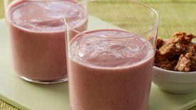 Greek Mixed Berry Smoothies