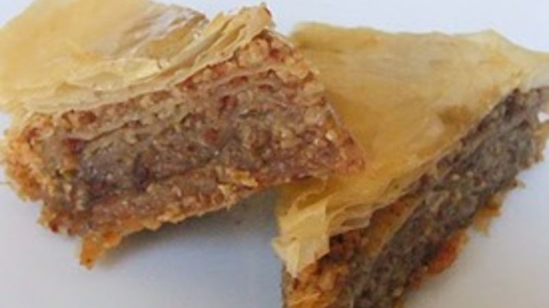 Honeyed Bacon Baklava