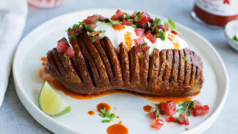 Mexican Hasselback Potato