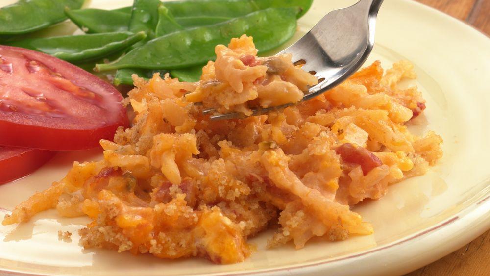 Easy Cheesy Salsa Potatoes