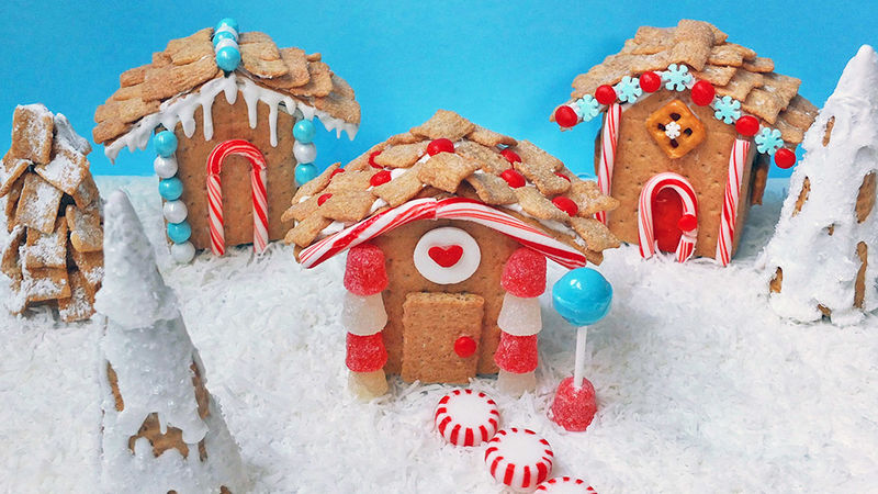 Mini Gingerbread Christmas Houses