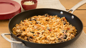 Cheesy Chicken Philly Skillet