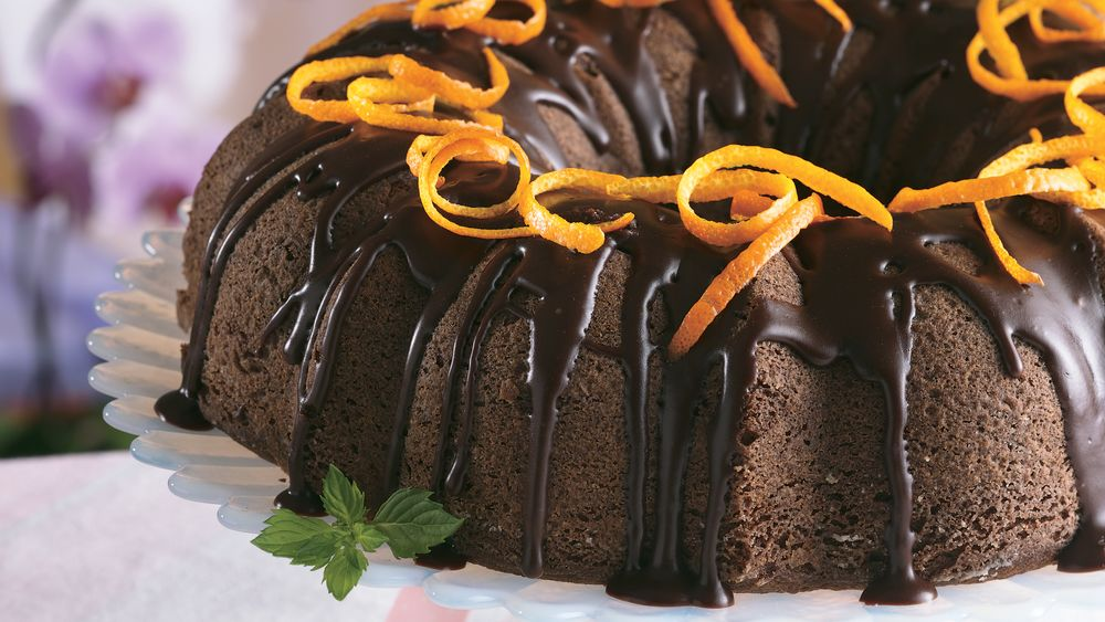 Chocolate Cake à l'Orange