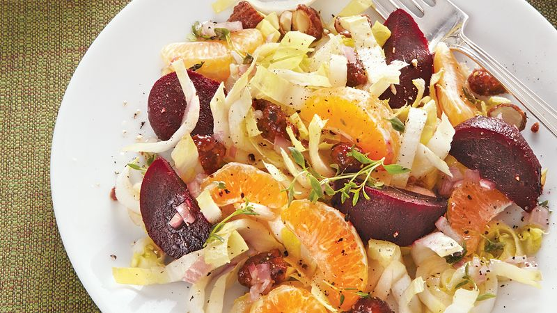 Clementine and Roasted Beet Salad