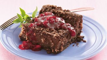 Chocolate-Raspberry Cheesecake Bars