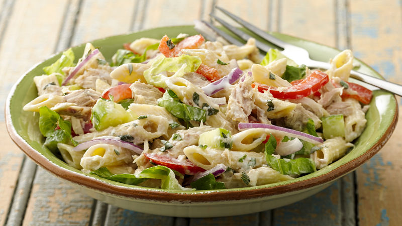 Tuna Pasta Salad Recipe Tablespoon Com