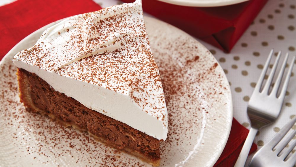 Spiced Chocolate Cheesecake