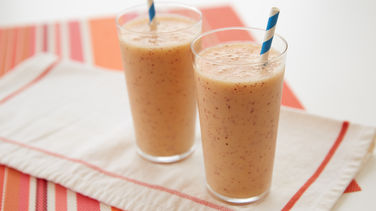 Peach-Banana Smoothie