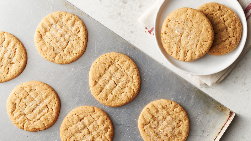 Peanut Butter Cookies Recipe Pillsbury Com