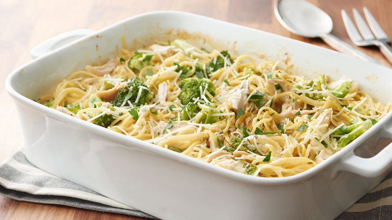 Chicken and Broccoli Tetrazzini