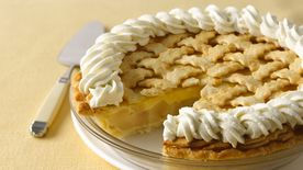 Pear Cream Pie