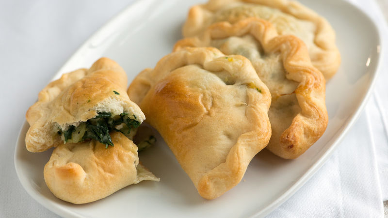 Potato and Spinach Hand Pies