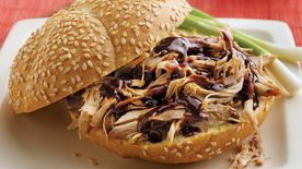 Slow-Cooker Turkey Teriyaki Sandwiches