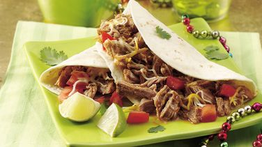 Slow-Cooker Green Chile Pork Tacos