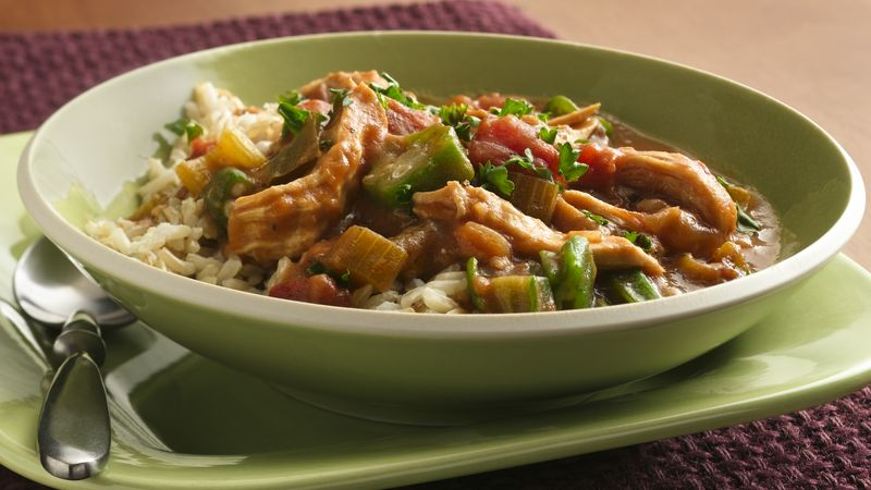 Chicken Gumbo (Makeover)