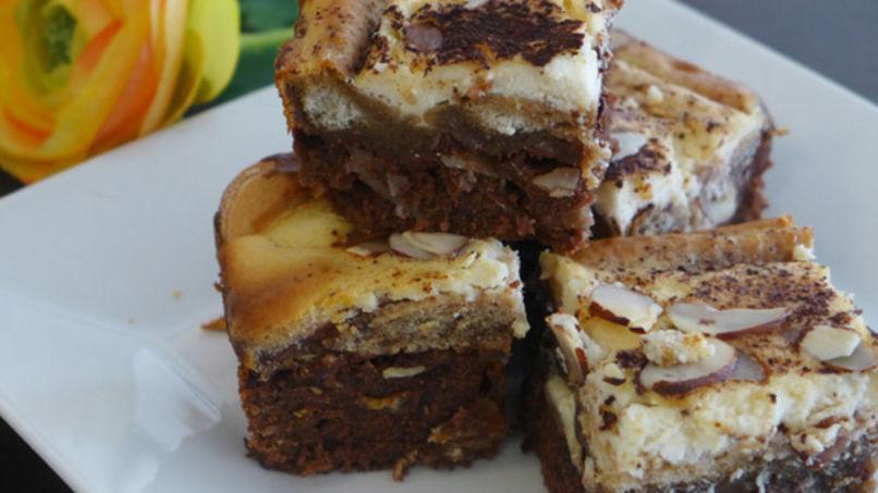 Tiramisu Brownies