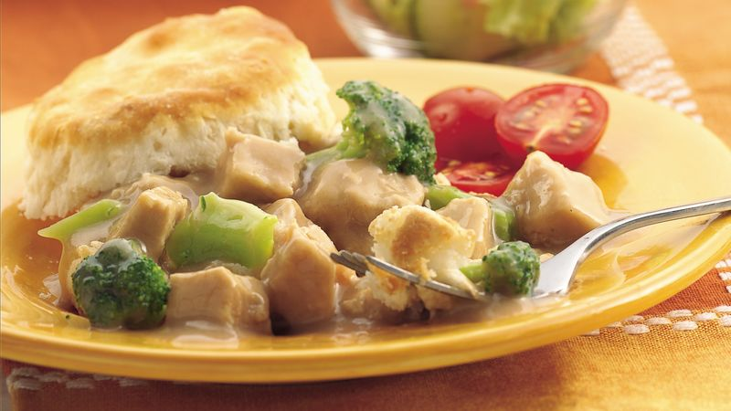 Easy Turkey and Biscuits