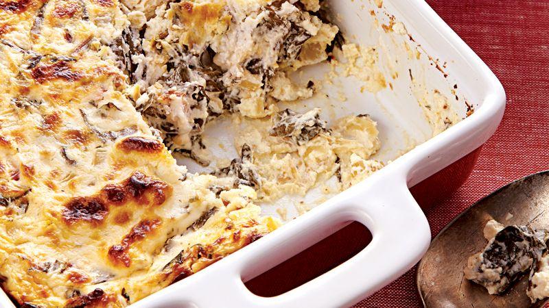 Warm Swiss Chard Parmesan Dip