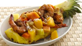 Grilled Shrimp with Tropical Fruit Salad