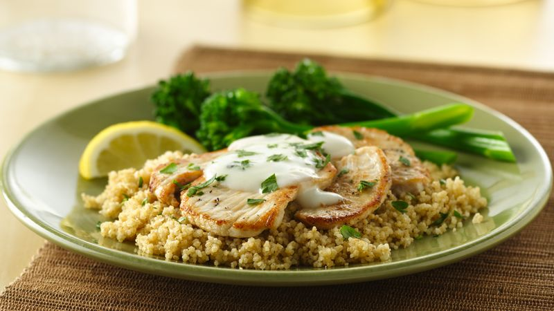 Turkey Scaloppine with Lemon Sauce